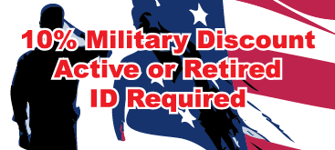 Military Discounts!
